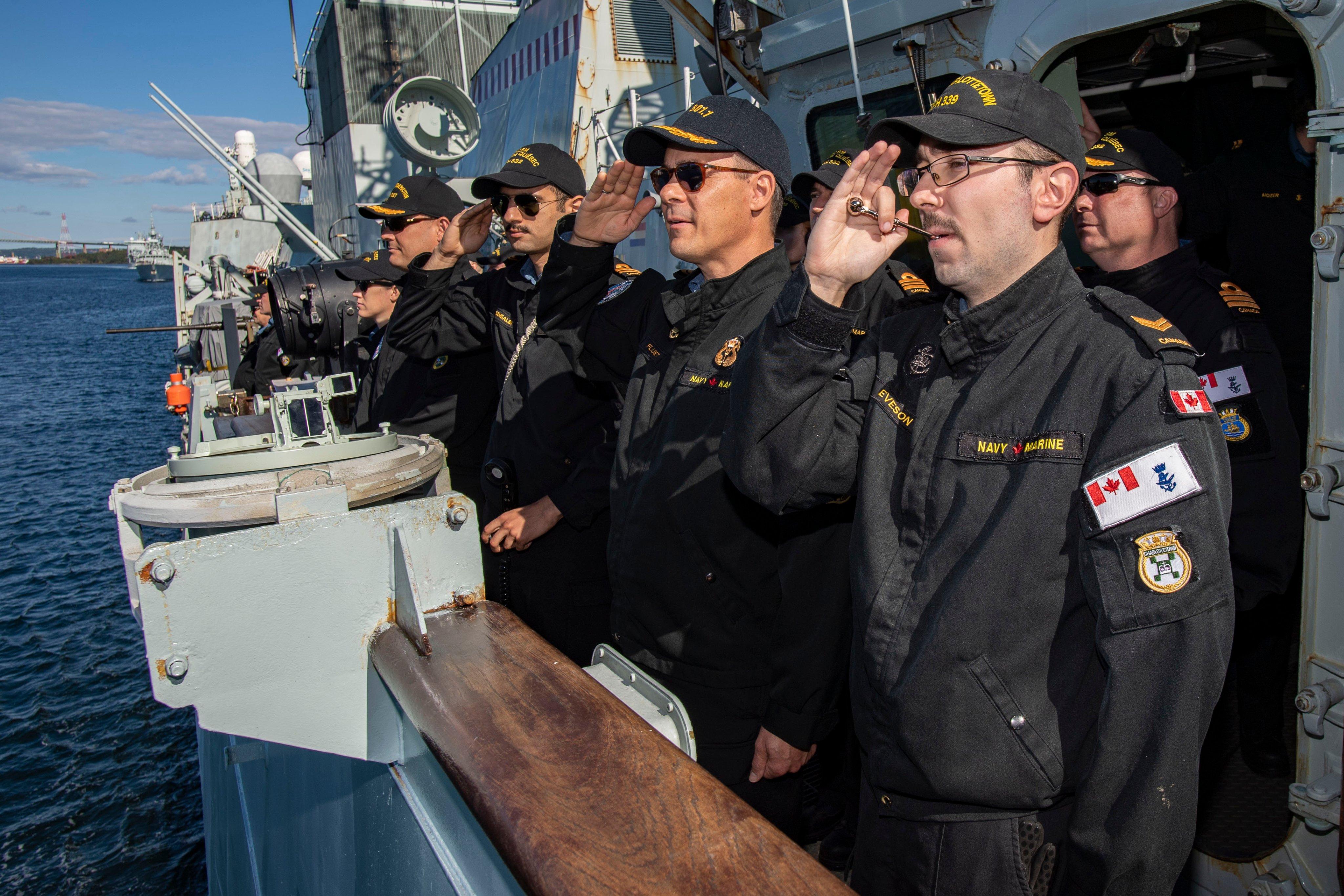Ships depart for Exercise JOINT WARRIOR