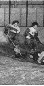The Halifax Wrens hockey league was popular in 1943, with the women forming multiple teams and often playing to large crowds. CROW'S NEST ARCHIVES
