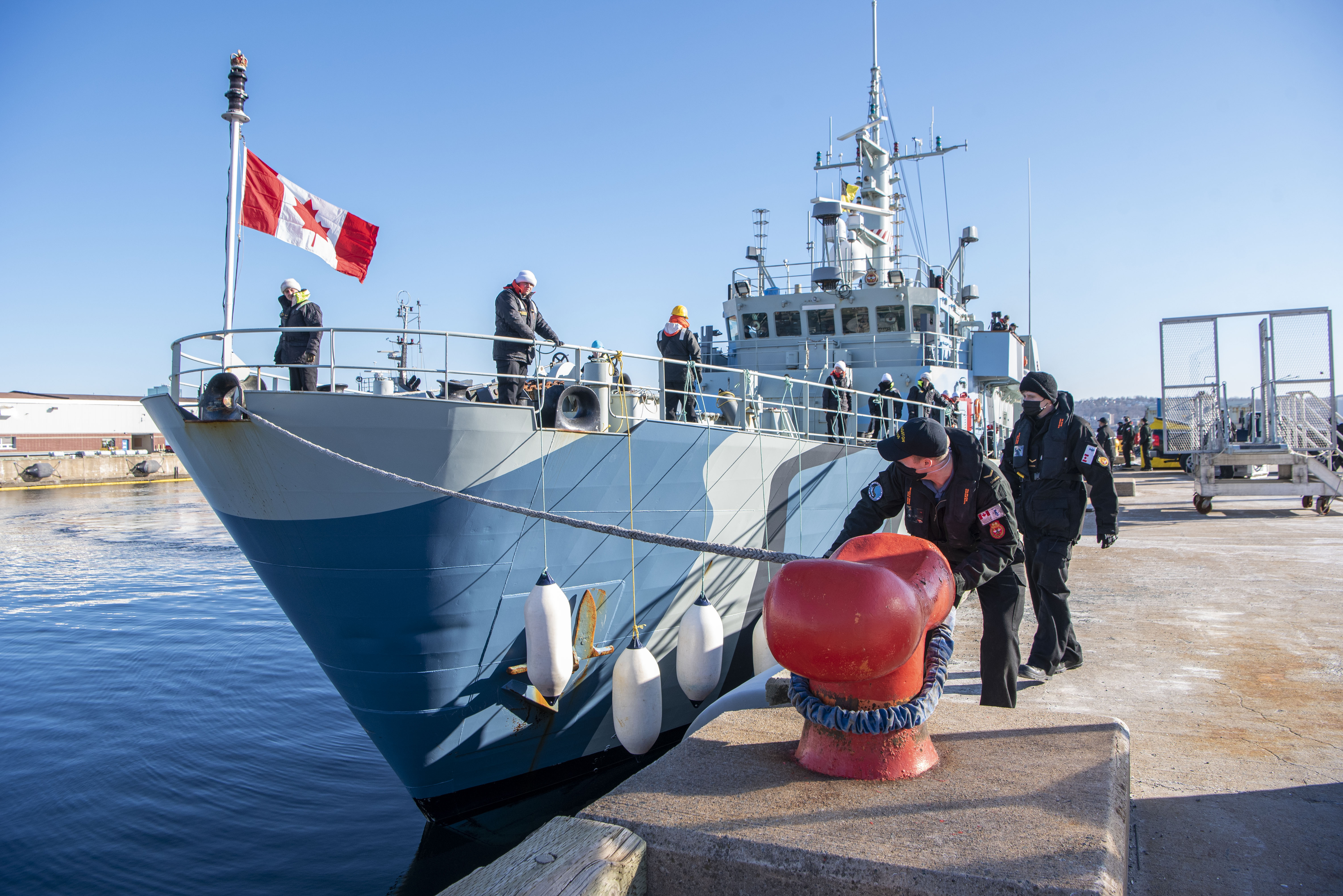 Welcome home, HMCS Moncton