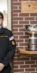 MS Remi Ducharme was named and was presented the 2020 Exceptional Sailor & Centennial Cup award virtually on March 1 in Halifax. MONA GHIZ, MARLANT PA