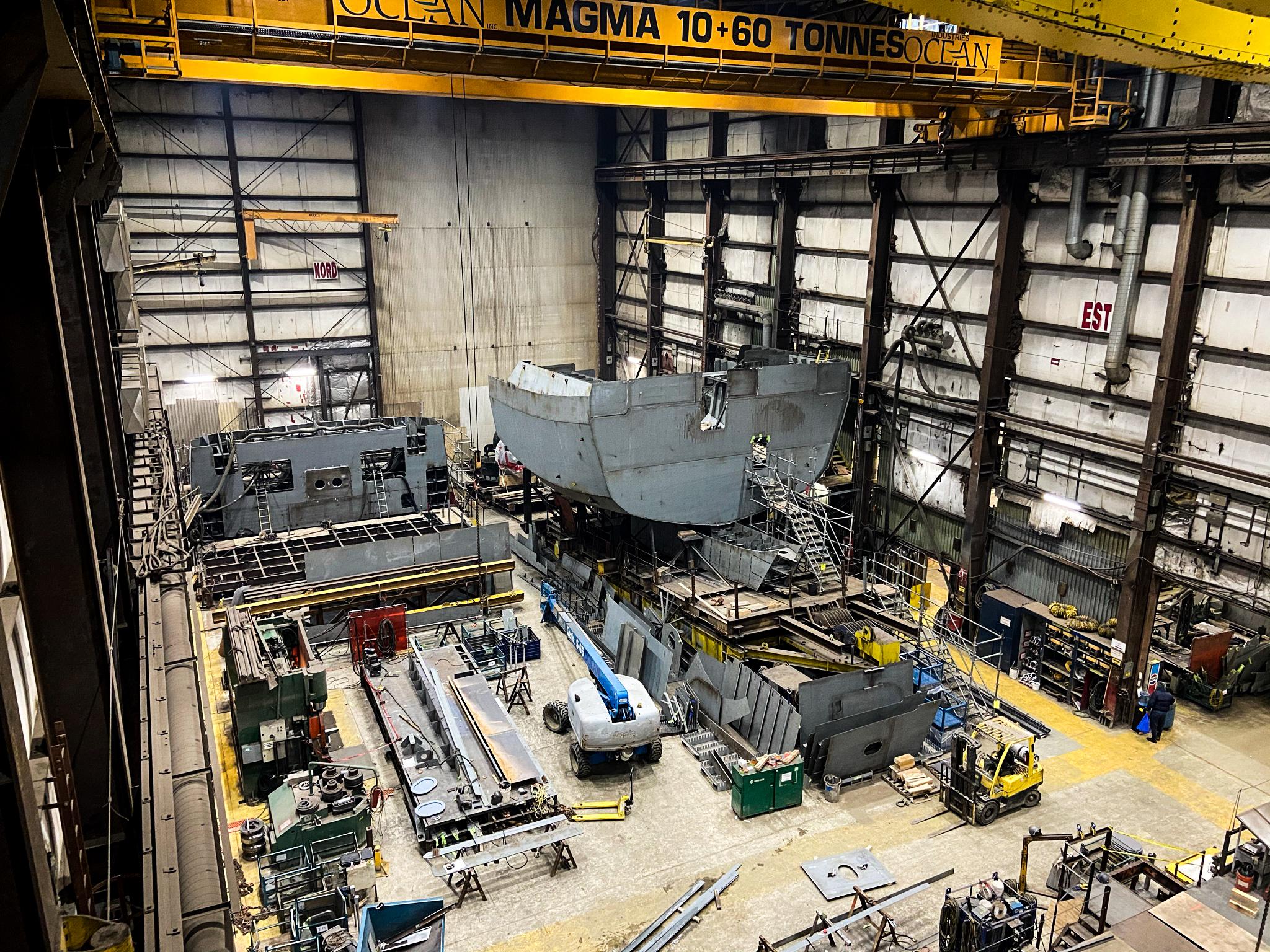 Progress on Naval Large Tug project