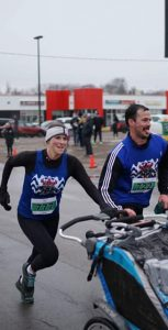 A contingent of naval reservists from HMCS Queen Charlotte took part in the Bunny Hop Run, organized by the PEI Roadrunners Club in April. The reserve has been promoting health and fitness activities through a fitness challenge for points and prizes. SUBMITTED