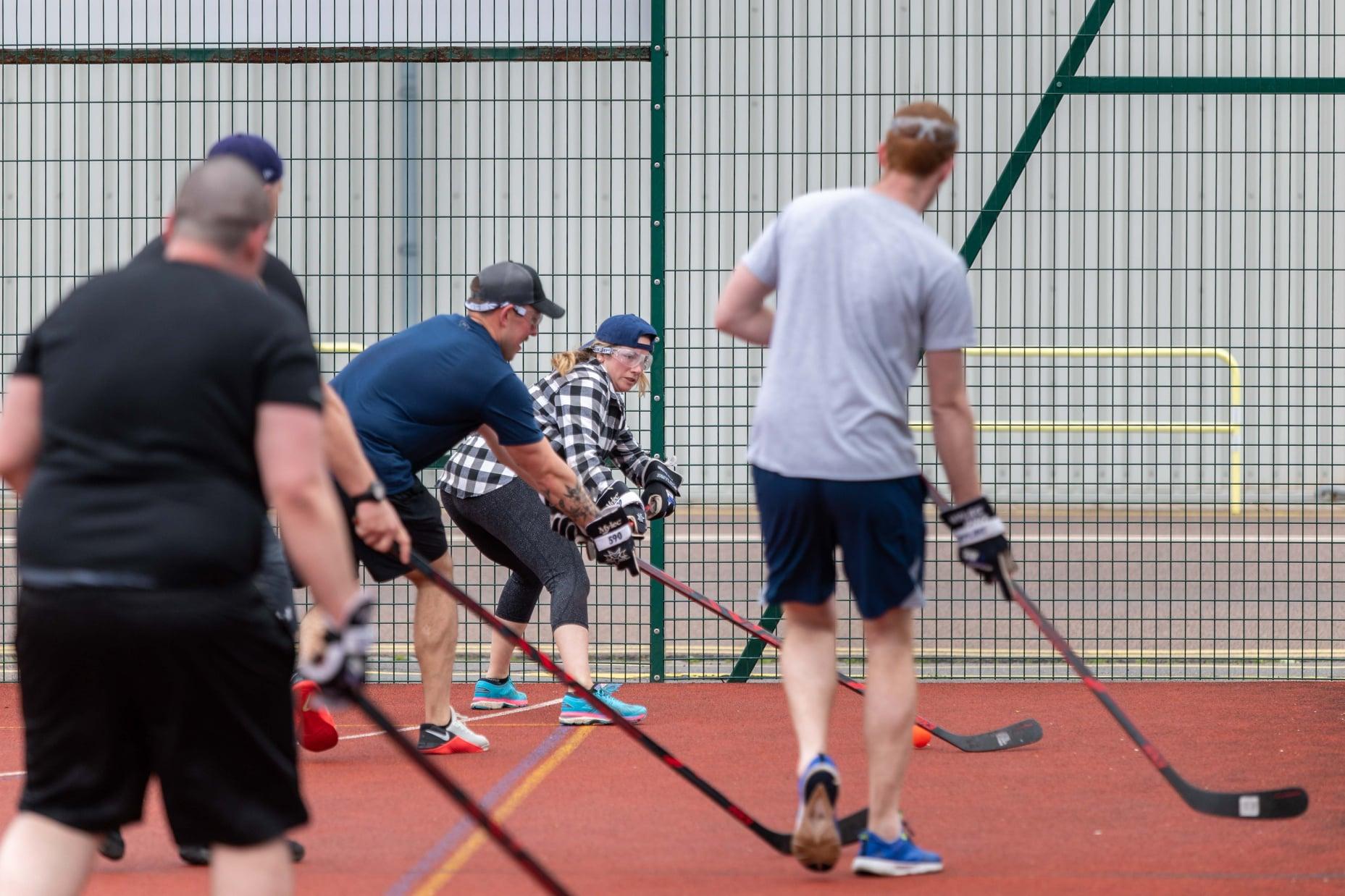 Ball hockey in Portsmouth