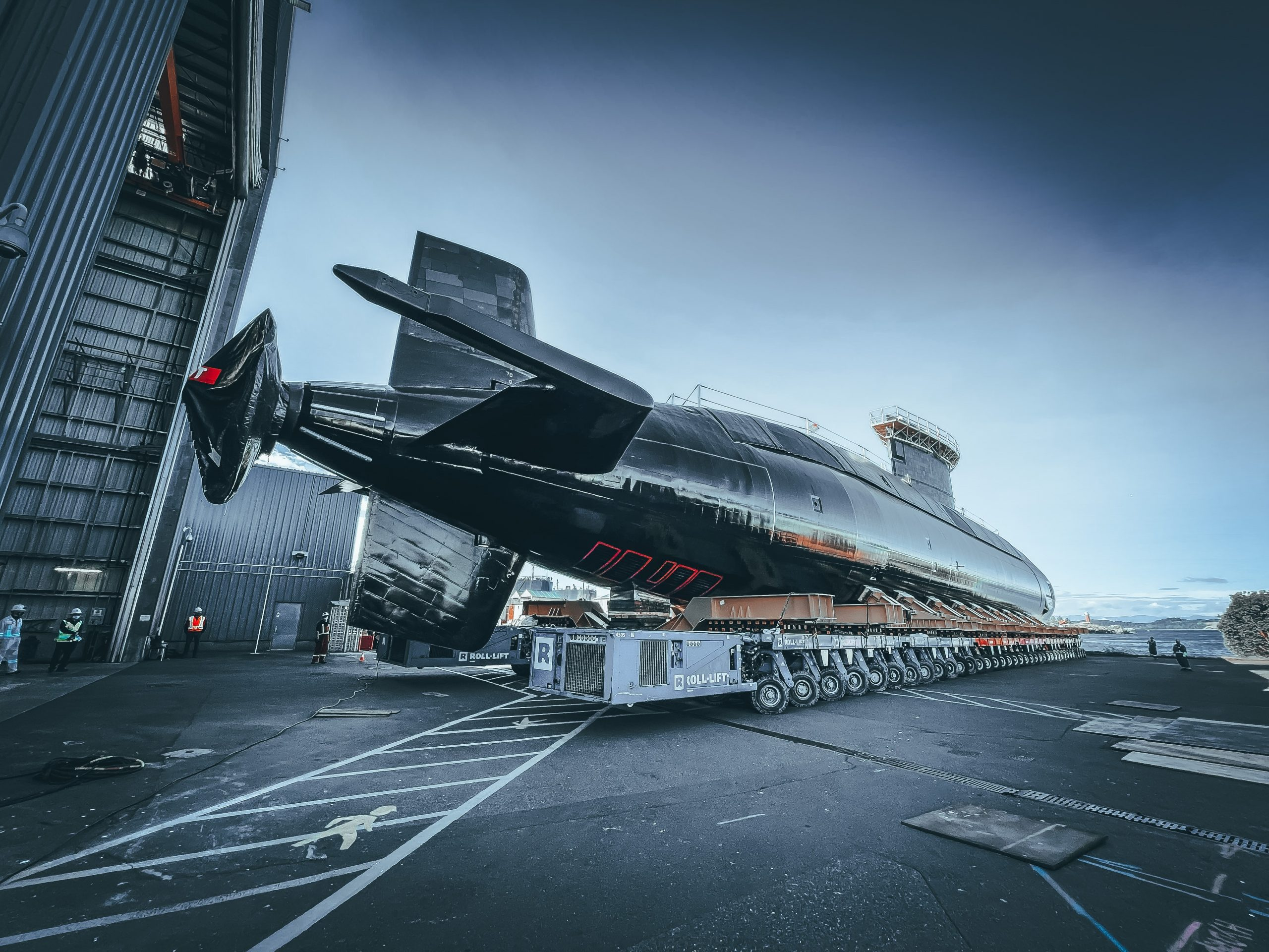 Canada's most modern submarine returns to the water