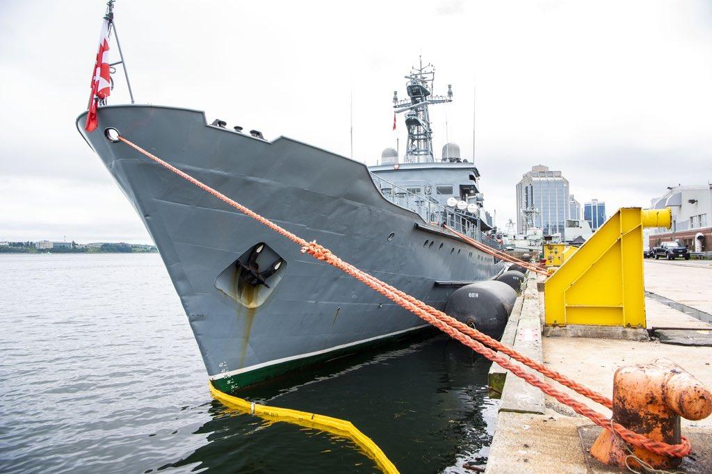 Polish sailors stop in Halifax