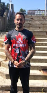 Lt(N) Will Sarty is hoping to take home gold at the World Arm Wrestling Championships in Orlando, Florida, September 14 - 20. A champion at the regional and national level, it will be his fifth time competing as part of Team Canada at the world championship event. JOANIE  VEITCH, TRIDENT STAFF