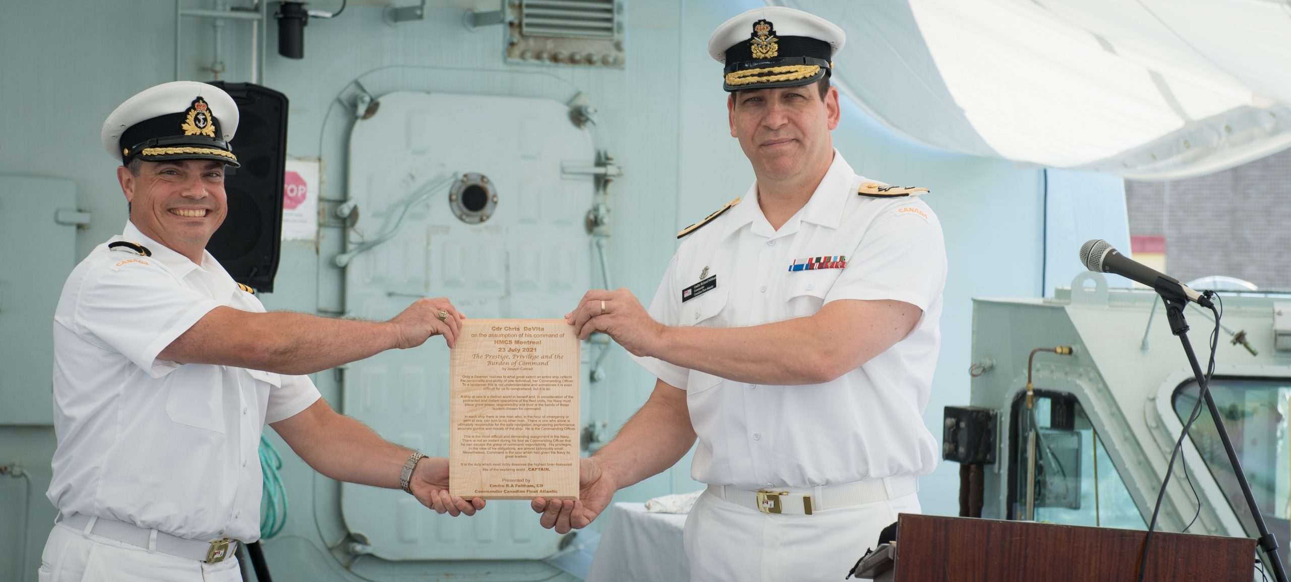 New CO for HMCS Montreal