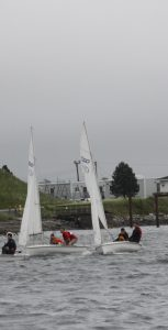 Competitors were evenly matched, with a number of races coming right down to the finish line. RYAN MELANSON, TRIDENT STAFF