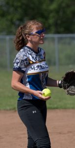 LCdr Cindy Hawkins has been key to the success of CAF women's slo-pitch in the Atlantic Region. SUBMITTED