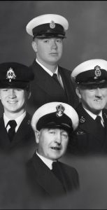 Clockwise from top: S1 Derek Duffy, Theodore Duffy, Peter Duffy and Brian Duffy. SUBMITTED