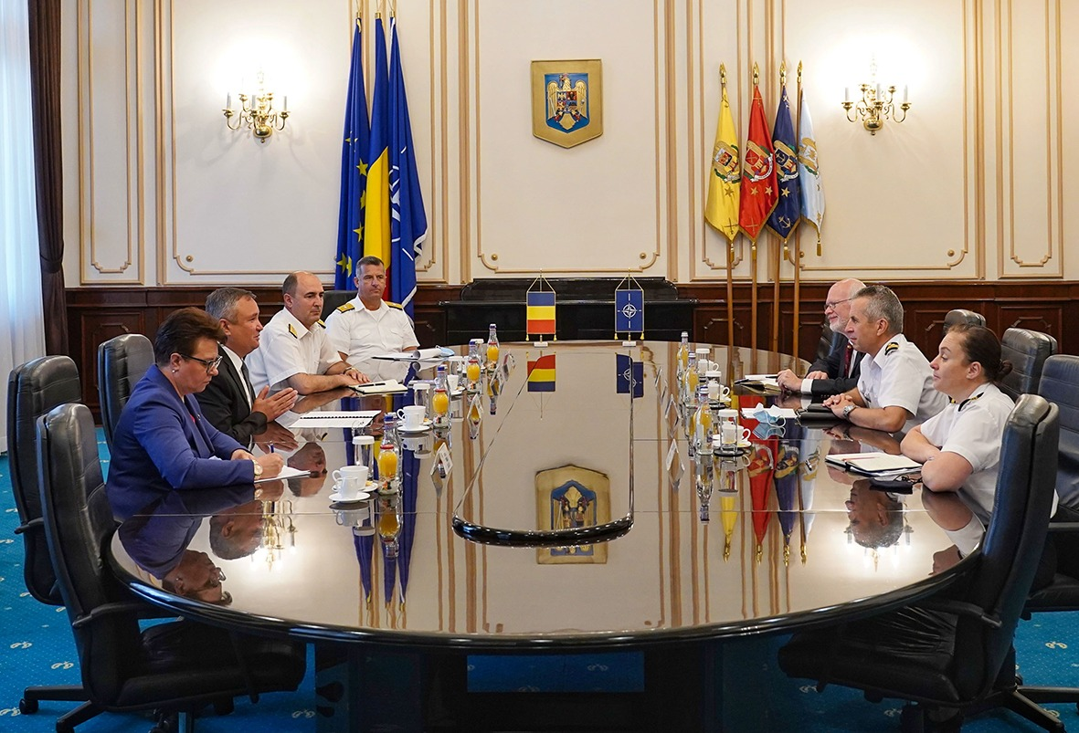 NATO reaffirms commitment to Black Sea security during Romania visit